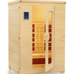 High Tech Health Thermal Life Two Person Far Infrared Sauna