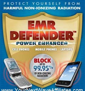 EMR Defender Cell Phone Power Enhancer