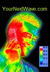EMR Defender - Thermal Image 5 min into cell call