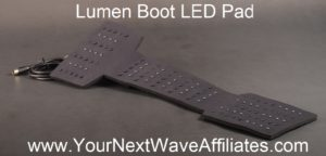 Lumen Boot LED Pad - front