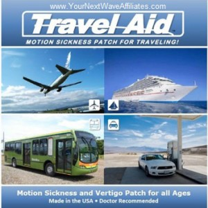 Travel Aid BioEnergy Patch