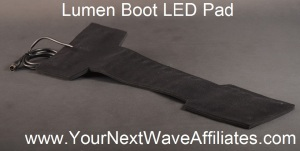Lumen Boot LED Pad Back