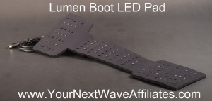 Lumen Boot LED Pad Front