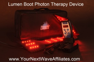 Lumen Boot Photon Therapy Device
