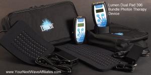 Lumen Dual Pad 396 Bundle Photon Therapy Device