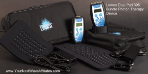 Lumen Dual Pad 396 Bundle Photon Therapy Device